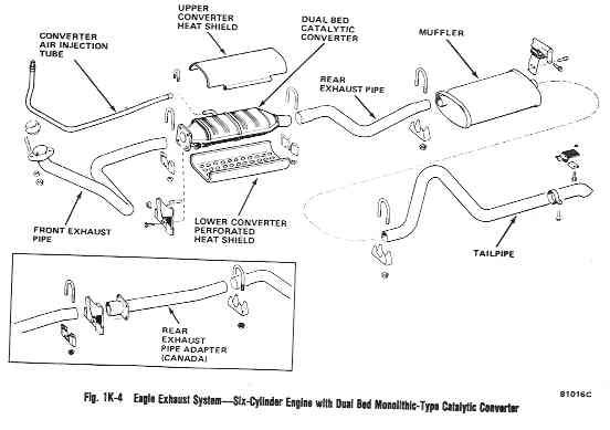 walker exhaust part numbers
