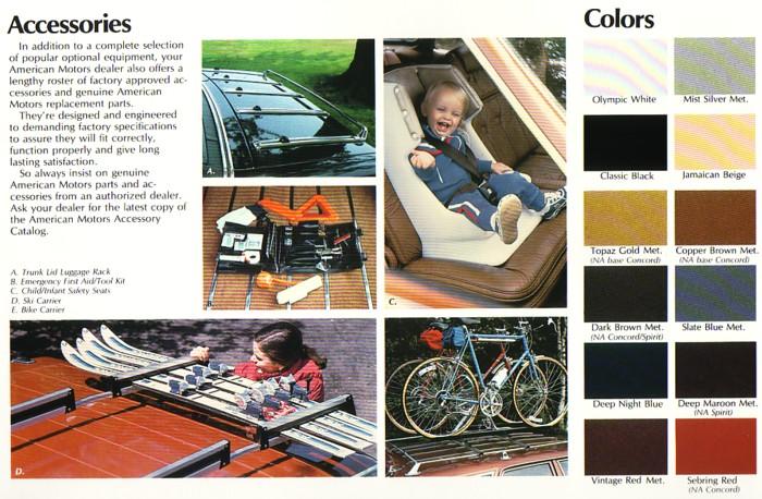 1983AMCEagleAccessoriesandColors