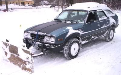 January 2005 – MRAMC1 and his Snow Shoving Wagon