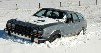 January 2009 – Mechanic's Snow what Snow? Wagon
