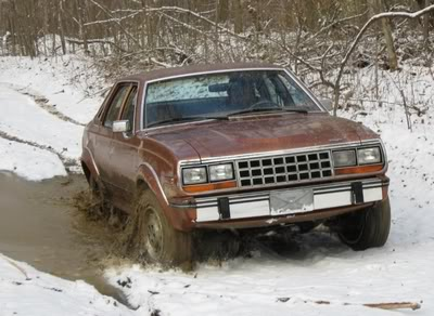 March 2009 – AMCWV Snow Mudding Sedan
